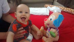 Gabriel e seu lindo sorriso!