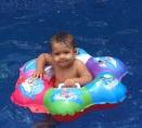 Uma piscina refrescante!