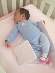 Julia dormindo depois do banho