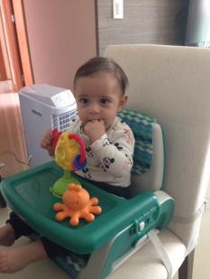 Pedro, 5 meses
