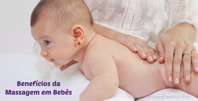 A importância da massagem para os bebês