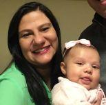 Marilisa Xu, mãe da Alice de 2 meses.